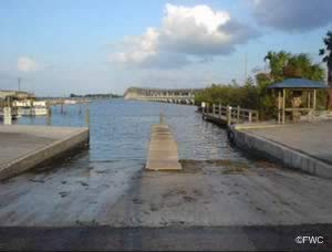 fort pierce florida saltwater boat ramp st lucie county