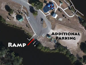 boat ramp in port st lucie at river park