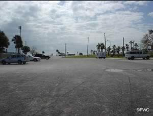 parking at the south causeway boat ramp in fort pierce florida