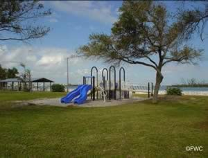 playground at south causeway park in fort pierce florida
