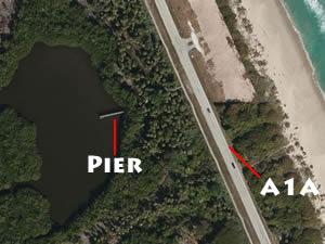queens island preserve fishing pier