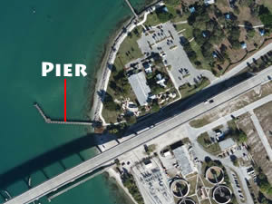pier near south causeway fort pierce florida