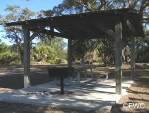 picnic grills at dallus creek tide swamp unit