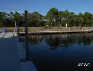 floating docks at keaton beach public ramp