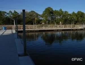 floating docks at keaton beach public ramp