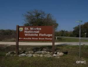 st marks nwr sign