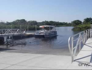 steinhatchee public ramp at ideal marina