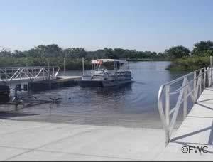 steinhatchee public ramp at ideal marina