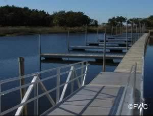 courtesy docks at steinhatchee florida public ramp