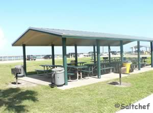 pavilions with grills at mary mcleod park