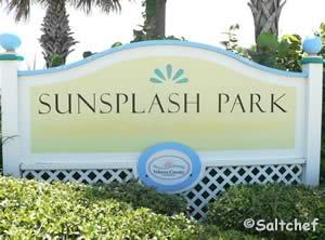 sunsplash park entrance sign