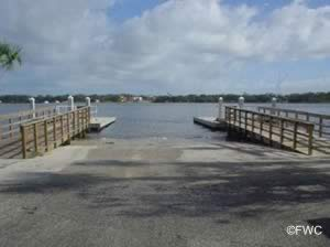 bethune recreation area saltwater boat launching ramp daytona beach volusia county