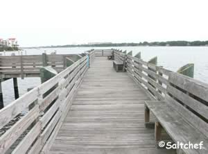 fishing pier at bethune point