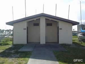 restrooms at bethune point in daytona beach