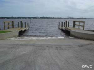 boat ramp on saltwater near ormond beach