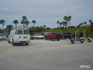 parking at the cassen granada park boat ramp ormond beach fl