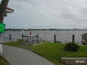 picnic along the water near ormond beach at cassen / granada park