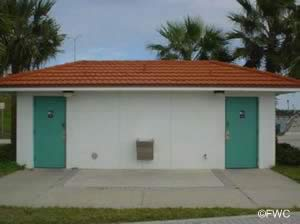 restrooms at cassen park and boat ramp ormond beach florida