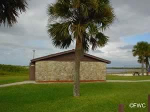 restrooms at george kennedy park in edgewater florida