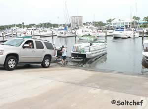 boat ramp halifax harbor fl