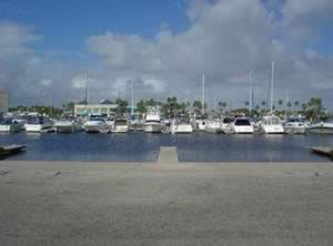 boat ramp at halifax harbor marina daytona beach