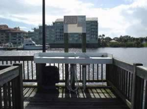 fish cleaning table halifax harbor marina daytona beach