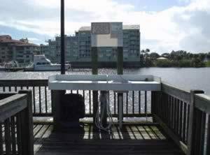 fish cleaning table halifax harbor marina daytona beach
