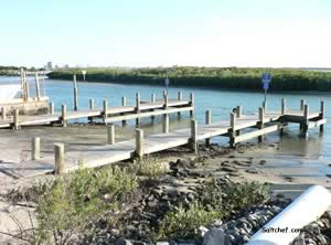 lighthouse park boat ramp ponce inlet florida