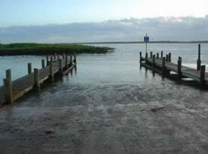 boat ramp at ponce inlet