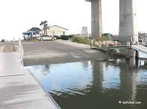 boat ramp at the port orange causeway dunlawton ave