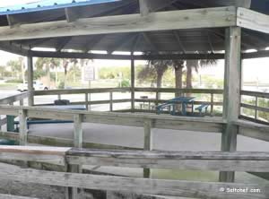 picnic pavilion at port orange causeway florida