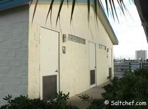 restrooms at port orange causeway park and boat ramp