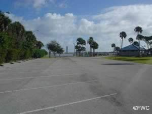 riverfront park and boat ramp parking