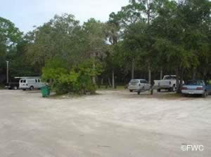 parking at sanchez park in ormond beach florida