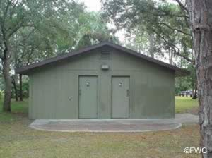 restrooms at sanchez park in ormond beach florida