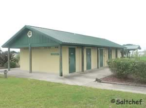 restrooms at sunrise park north holly hill