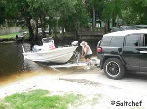 boat ramp at tomoka estates