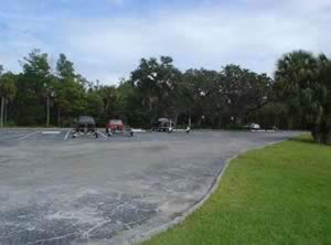 parking at tomoka state park boat ramp