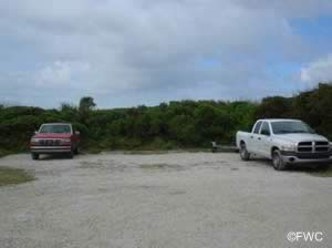 parking at turtlemound primitive ramp