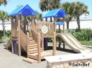 playground at beachcomber park in daytona beach shores