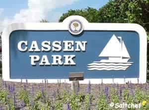 cassen park sign