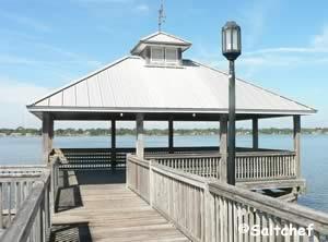 fishing pier at colin's park indaytona beach