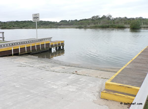 boat ramp at high bridge park ormond beach