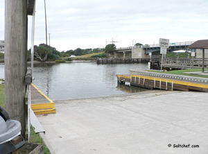 boat ramp at high bridge park in oak hill volusia county