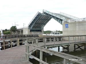 fishing dock at high bridge park and boat ramp ormond beach