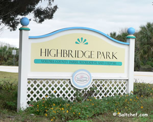 high bridge park entrance volusia county