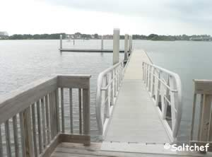 pier / dock at manatee island