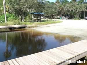 tomoka river boat ramp at sanchez park ormond beach