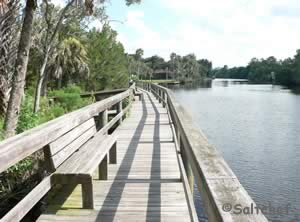fish the tomoka river at sanchez park in ormond beach