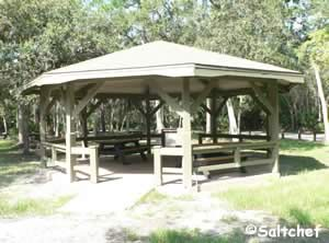 picnicking at sanchez park and boat ramp in ormond beach florida